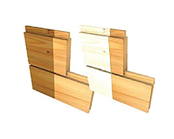 טיפול במעכב בעירה לקונסטרוקציית עץ